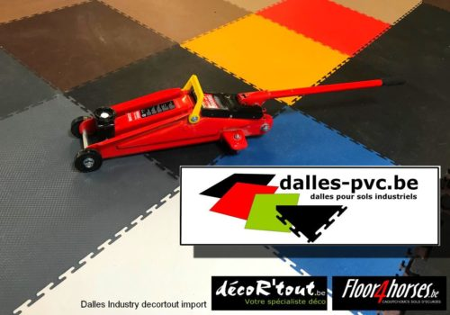 Dalles pvc sols industriels